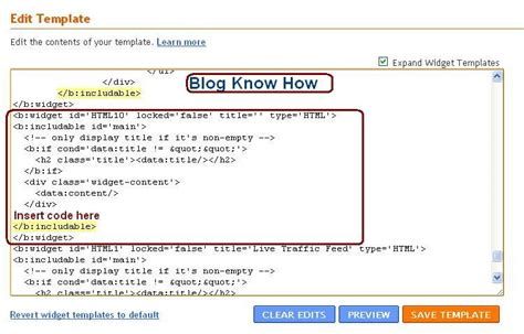 blogger tutorial blogspot com how to add missing quick edit wrench to blogger blog