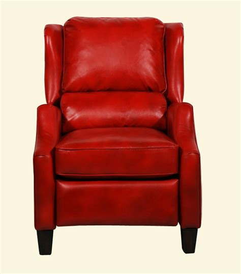 red recliner barcalounger berkley ll vintage reserve leather recliner
