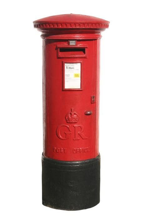 brit box red postbox red pinterest