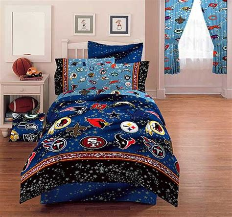 nfl bedding nfl stars full bed skirt