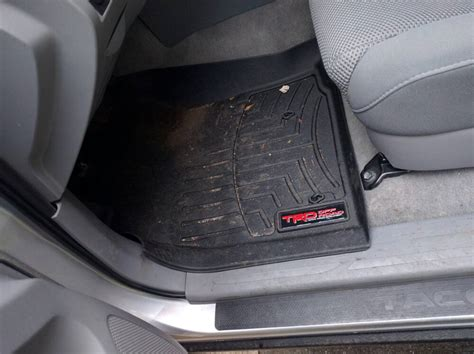 trd replacement decal for weathertech floor mats tacoma
