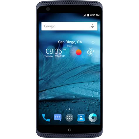 mobile smart pro zte axon pro 64gb smartphone unlocked phthalo blue