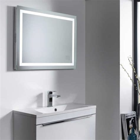 small bathroom mirrors uk roper rhodes beat mirror with wireless bluetooth led