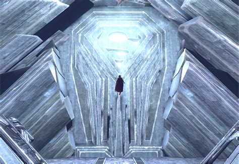 house of el image house of el crest in fortress of solitude png dc