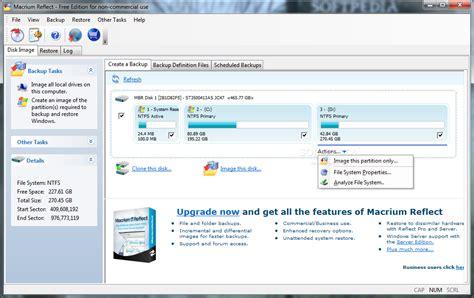 free program macrium reflect free edition for windows free