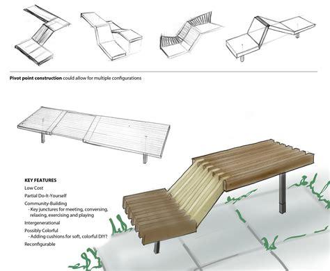 public space seating by ashley thorfinnson at coroflot com
