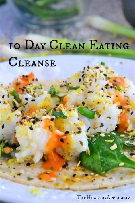 Standard Process 10 Day Blood Sugar Detox Reviews by 10 Day Clean Cleanse The Healthy Apple