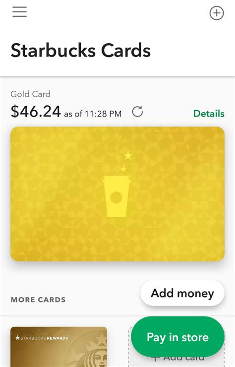 Add Gift Card Starbucks App - how to add money starbucks card infocard co