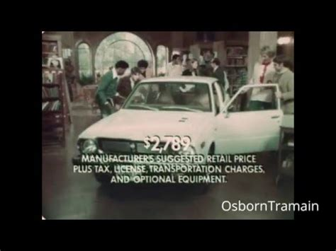 You Got It Toyota 1976 Toyota Corolla Commercial Quot You Asked For It You