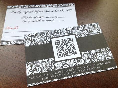 Wedding Invitation Qr Code by Qr Codes Wedding Invitations 3 Ways To Use Qr Code On