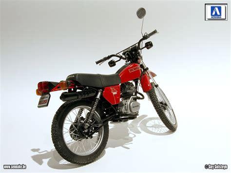 honda xl racing scale models honda xl 125 s 1979 by sennake aoshima