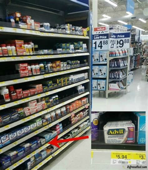 Advil Shelf by Easy Period Emergency Kit For Active Teenagers