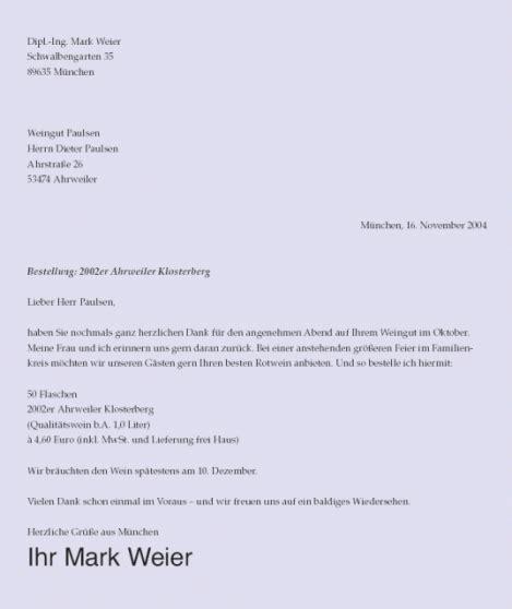 Gesch Ftsbriefe Schreiben Muster musterbrief schreiben devisenhandel kapital