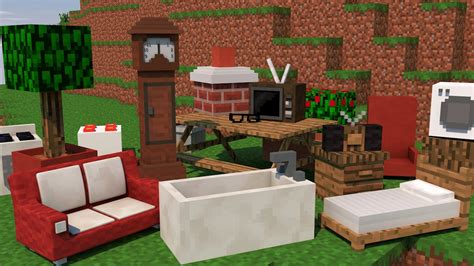 Minecraft The Furniture Mod by Minecraft M 211 Veis Mod Computador Privada Fog 195 O