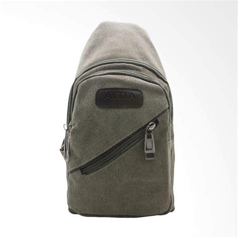 Tas Fashion 05 jual aitia tas fashion selempang pria hijau army 15