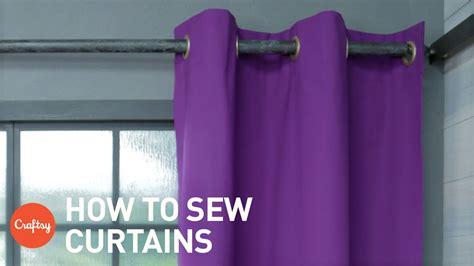 How To Sew Drapes With Grommets How To Sew Curtains Easy Grommet Style With Free Patt