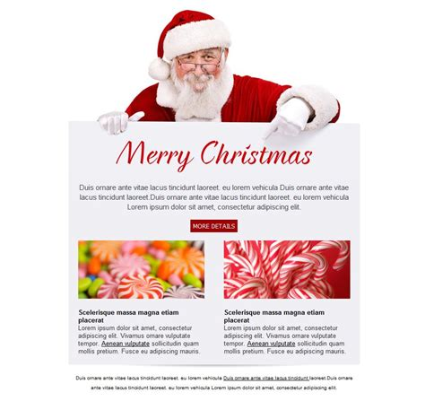 Christmas Greeting Email Template Best Template Idea Email Card Templates