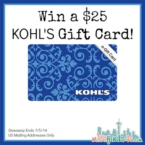 Gift Cards At Kohl S - 393 best images about super giveaways on pinterest visa gift card walmart and ipad mini