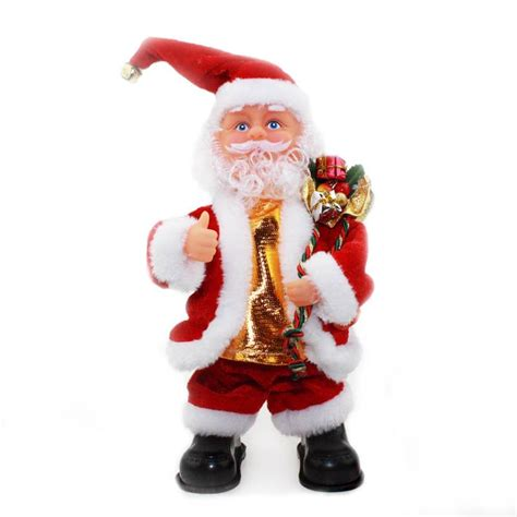 new music xmas christmas toy animated santa claus gift