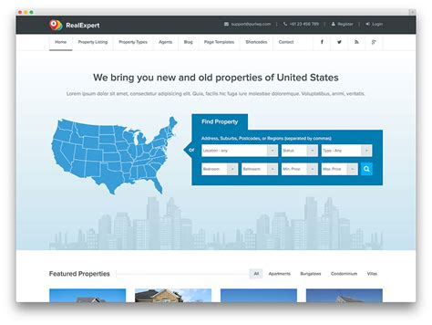 theme wordpress listing 40 best real estate wordpress themes for agencies
