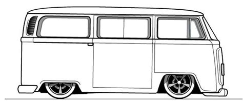 volkswagen bus coloring pages coloring pages