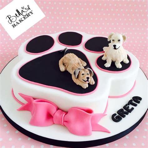dog cake festkage pinterest kage kager og hunde