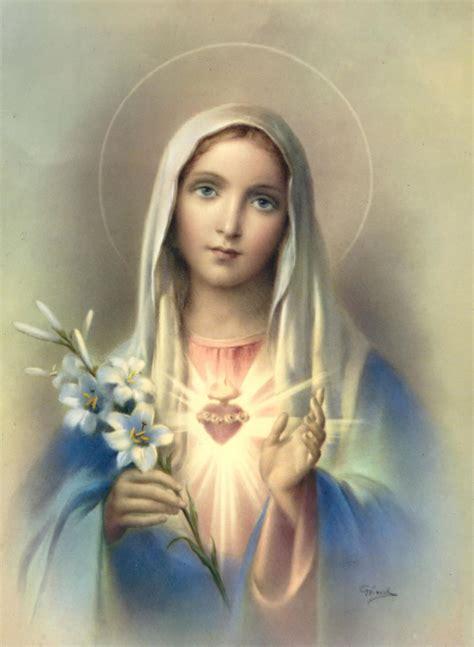 imagenes virgen maria santisima catecismo b 225 sico la virgen mar 237 a taringa