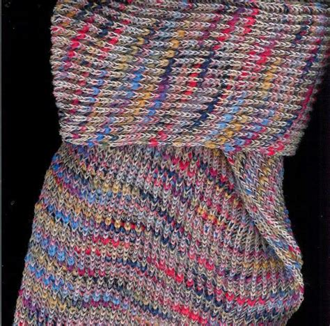 scarf pattern variegated yarn marzipanknits making your own variegated yarn