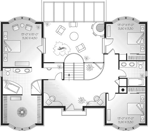 Symmetrical House Plans by Symmetrical European House Plans House Design Plans