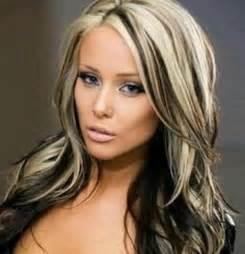 Blonde with black underneath hairstyles