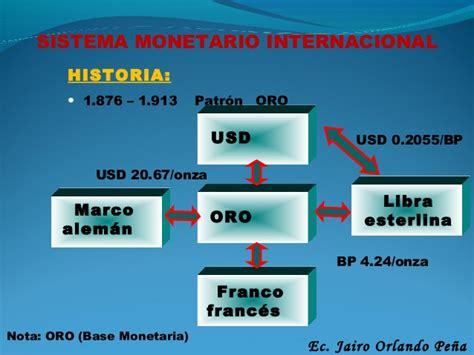 finanzas internacionales sistema monetario internacional finanzas internacionales
