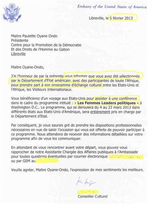 Lettre De Demande De Visa Americain Sle Cover Letter Exemple De Lettre D Invitation Pour Visa Americain