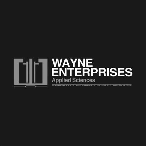 Hoodie Wayne Enterprises wayne enterprises applied sciences batman t shirt