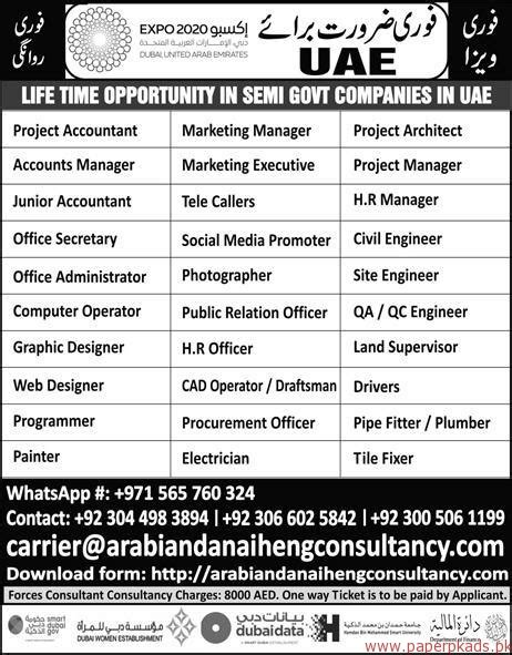 Project Accountant Description by Project Accountant Accounts Manager Office And Other In Uae Paperpk