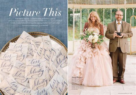 Martha Stewart Weddings by A Best Day