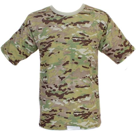 Tactical Tshirt Multicam by Multicam Tactical Camouflage T Shirt