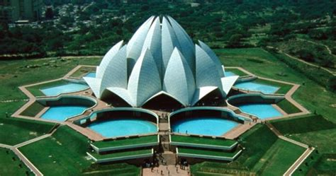 construction of lotus temple lotus temple a place that unites indian travel