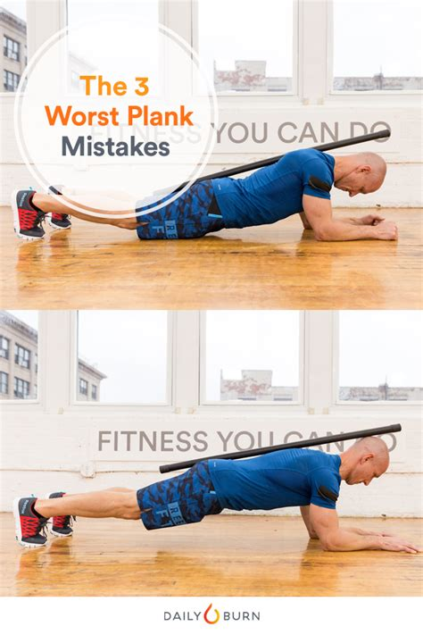 Exercising Errors by 3 Common Plank Mistakes And How To Fix Them