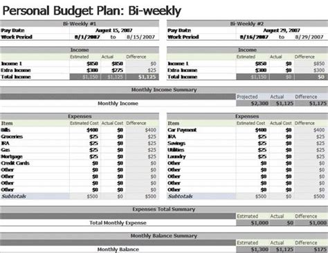 Pinterest The World S Catalog Of Ideas Monthly Budget Based On Biweekly Pay Template