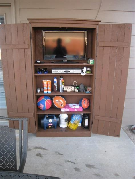 diy outdoor storage cabinet outdoor cabinet diy woodworking projects plans