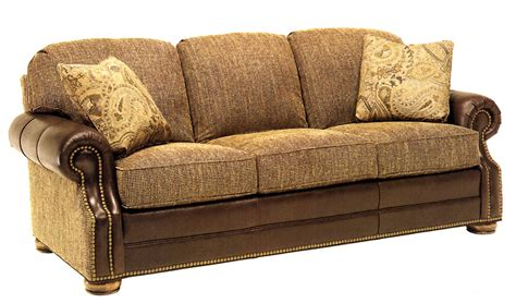 Sofa Leather And Fabric Combined Fabric Leather Sofa Combination Infosofa Co
