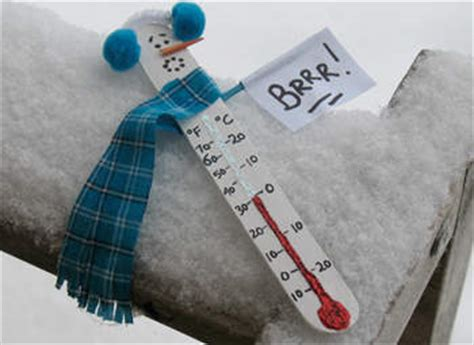 paper thermometer craft snowman thermometer family crafts