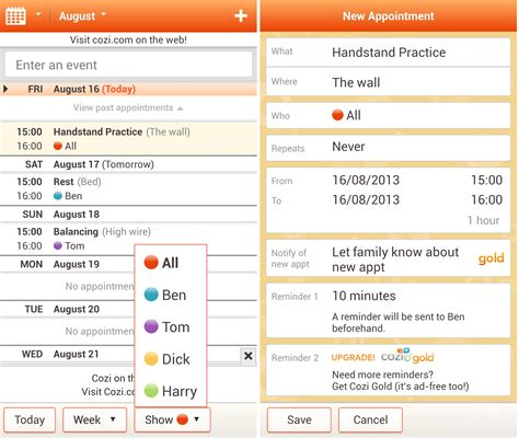 Cozy Calendar 12 Of The Best Calendar Apps Available For Your Android