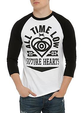 All Time Low Future Hearts Jaket Hoodies Sweater all time low future hearts raglan topic