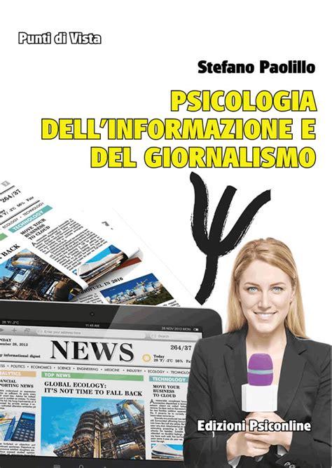 librerie universitarie perugia stefano paolillo presenta psicologia dell informazione e