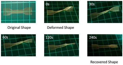 shape memory applied sciences special issue shape memory polymers