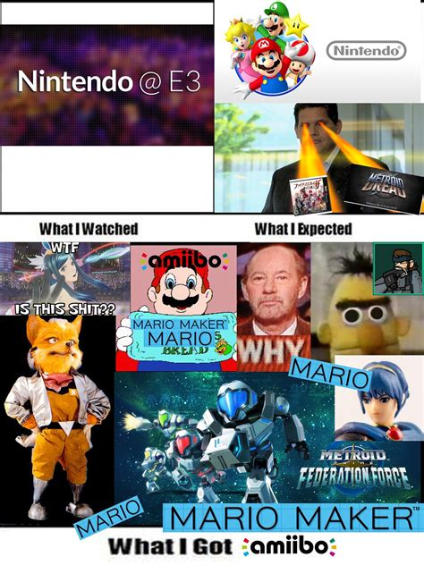 Nintendo Memes - nintendo e3 the horror by ningen meme center