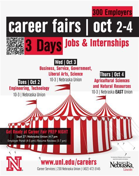 Of Nebraska Mba Career Fair by Fall Career Fair Is This Week Announce Of