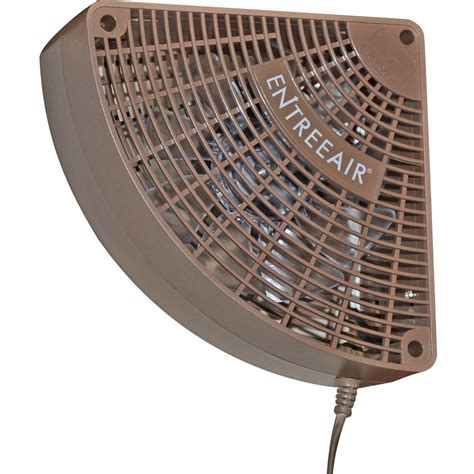 single speed ceiling fan suncourt entreeair 5 in single speed door frame fan in