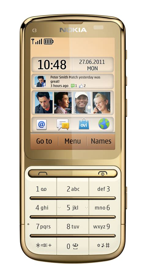 themes gold nokia arriving now nokia c3 01 gold edition microsoft devices